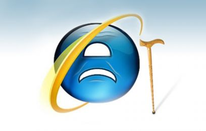 IE6, a well and truly outdated browser